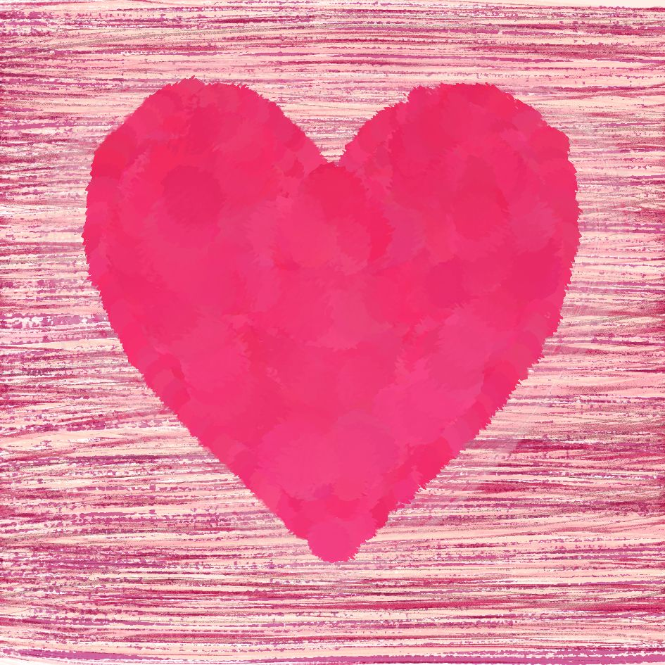 Big Pink Heart by Tina Oloyede